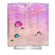 Resting Places Shower Curtain