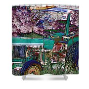 Retired In Color Shower Curtain
