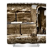 Retired Truck Shower Curtain