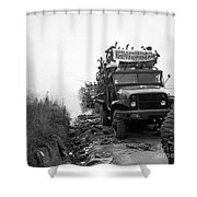 Return Of Pows During Operation Big Shower Curtain