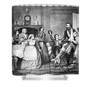 Returning Soldier, 1866 Shower Curtain
