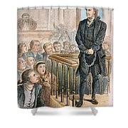 Rev. George Burroughs Shower Curtain by Granger