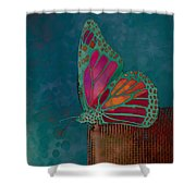 Reve De Papillon - S04bt02 Shower Curtain