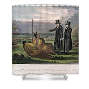 Reverend Samuel Marsden Shower Curtain