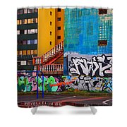 Revolucion De La Cuchara Shower Curtain