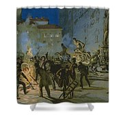 Revolution In Florence Shower Curtain