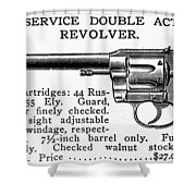 Revolver, 19th Century Shower Curtain