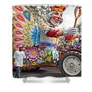 Rex Mardi Gras Parade IIi Shower Curtain