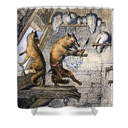 Reynard The Fox, 1846 Shower Curtain