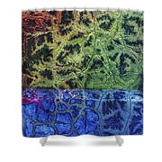 Rhapsody Of Colors 57 Shower Curtain