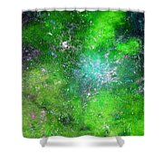 Rhapsody Of Stars In C Major  Shower Curtain