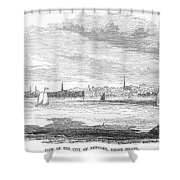Rhode Island: Newport Shower Curtain