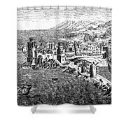 Rhodes, 1488 Shower Curtain