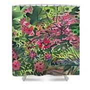 Rhododendrons And Azaleas Shower Curtain