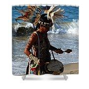 Rhythm Of The Ocean Shower Curtain