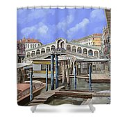 Rialto Dal Lato Opposto Shower Curtain
