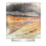 Ribera Del Duero In Spain 08 Shower Curtain