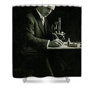 Richard C. Cabot, American Physician Shower Curtain by Science Source