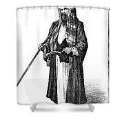 Richard Francis Burton Shower Curtain