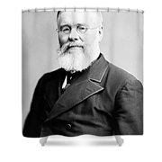 Richard Jordan Gatling, American Shower Curtain by Photo Researchers