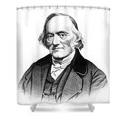 Richard Owen, English Paleontologist Shower Curtain