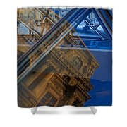 Richelieu Wing Of The Louvre Shower Curtain
