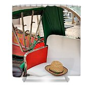 Rickshaw Shower Curtain