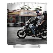 Ride Shower Curtain
