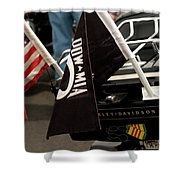 Ride For Hero's Shower Curtain