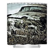 Ride Of Abandonment  Shower Curtain