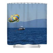 Ride The Wind Shower Curtain