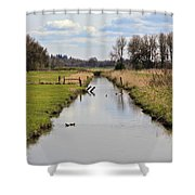 Ridgefield Reserve Landscape Shower Curtain