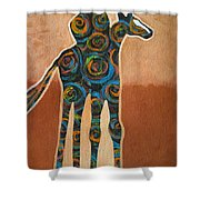 Riding In Circles Shower Curtain