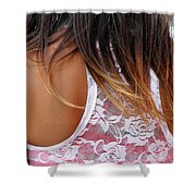 Right Back Shower Curtain