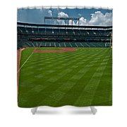 Right Field Of Oriole Park At Camden Yard Shower Curtain
