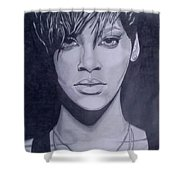 Rihanna Shower Curtain