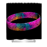 Ring Of Feathers 3d Shower Curtain