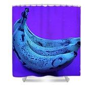 Ripe Bananas In Uv Light 22 Shower Curtain