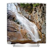 Ripley Falls - Crawford Notch State Park New Hampshire Usa Shower Curtain