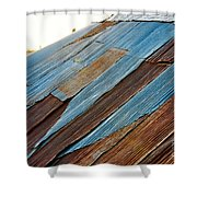 Rippled Roof  Shower Curtain