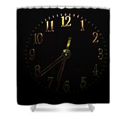 Rise And Shine  Art Shower Curtain