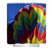 Rising Hot Air Balloons Shower Curtain