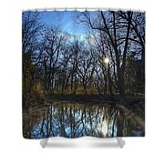 Rising On The River Shower Curtain