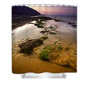 Rising Tides Shower Curtain