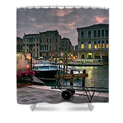 Riva Del Vin. Venezia Shower Curtain