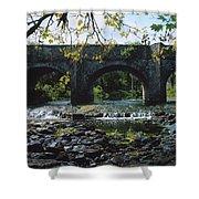 River Annalee, Ballyhaise, Co Cavan Shower Curtain