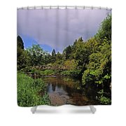 River Awbeg, Annesgrove Shower Curtain