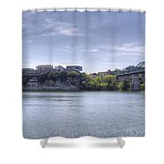 River Bluff Shower Curtain