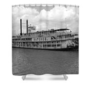 River Boat Queen Shower Curtain