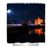 River Canard Shower Curtain